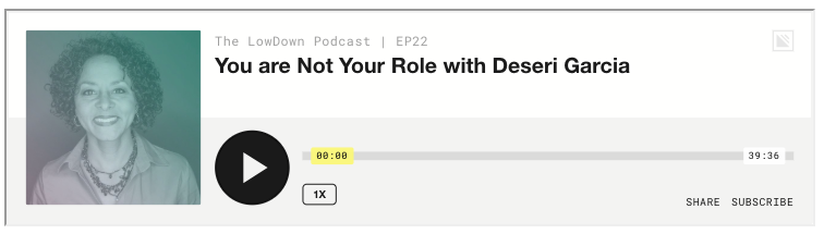You Are Not Your Role podcast image